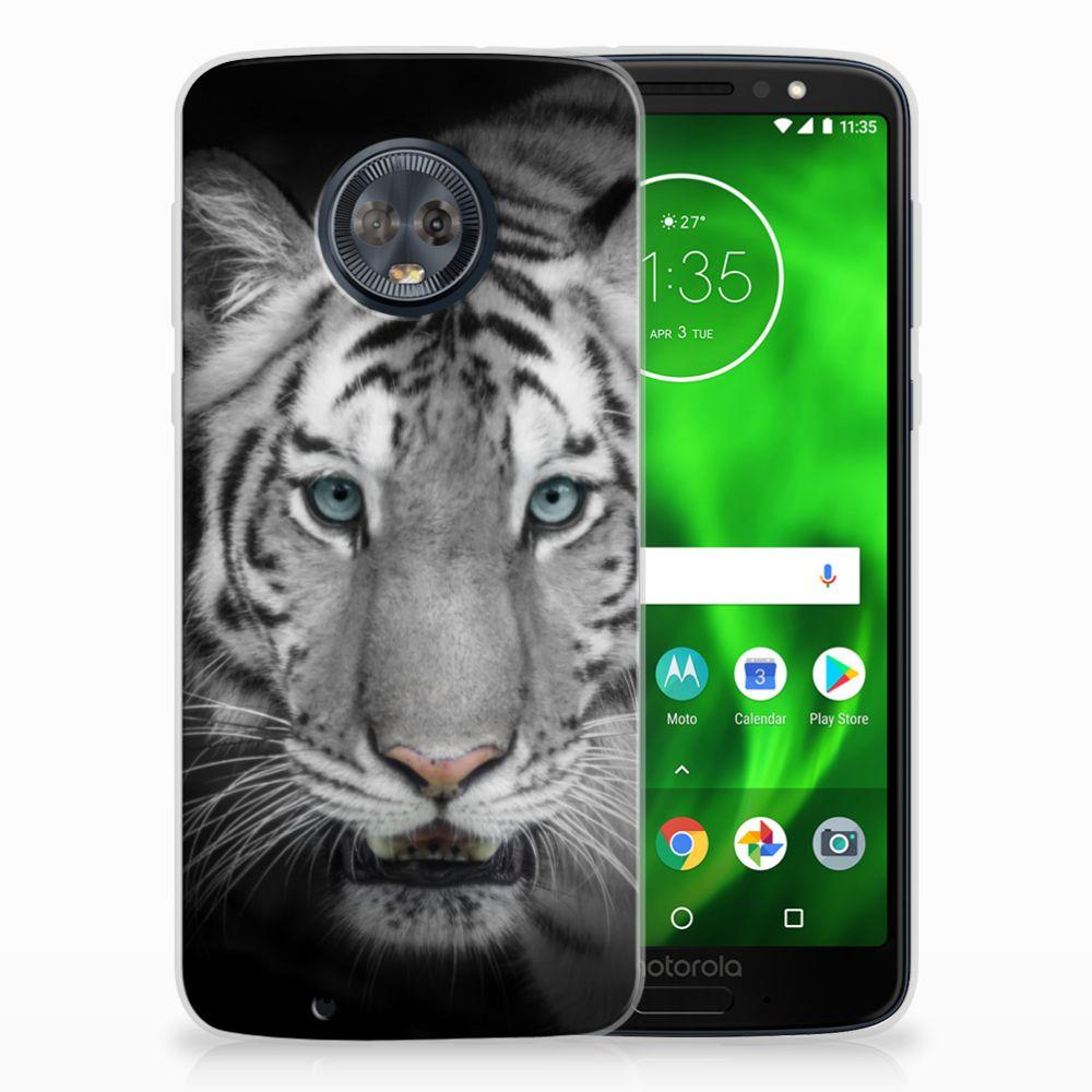 Motorola Moto G6 Uniek TPU Hoesje Tijger
