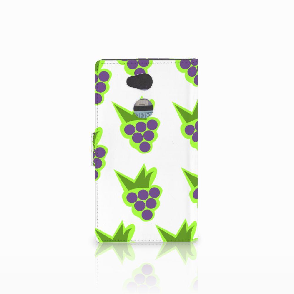 Sony Xperia L2 Book Cover Druiven
