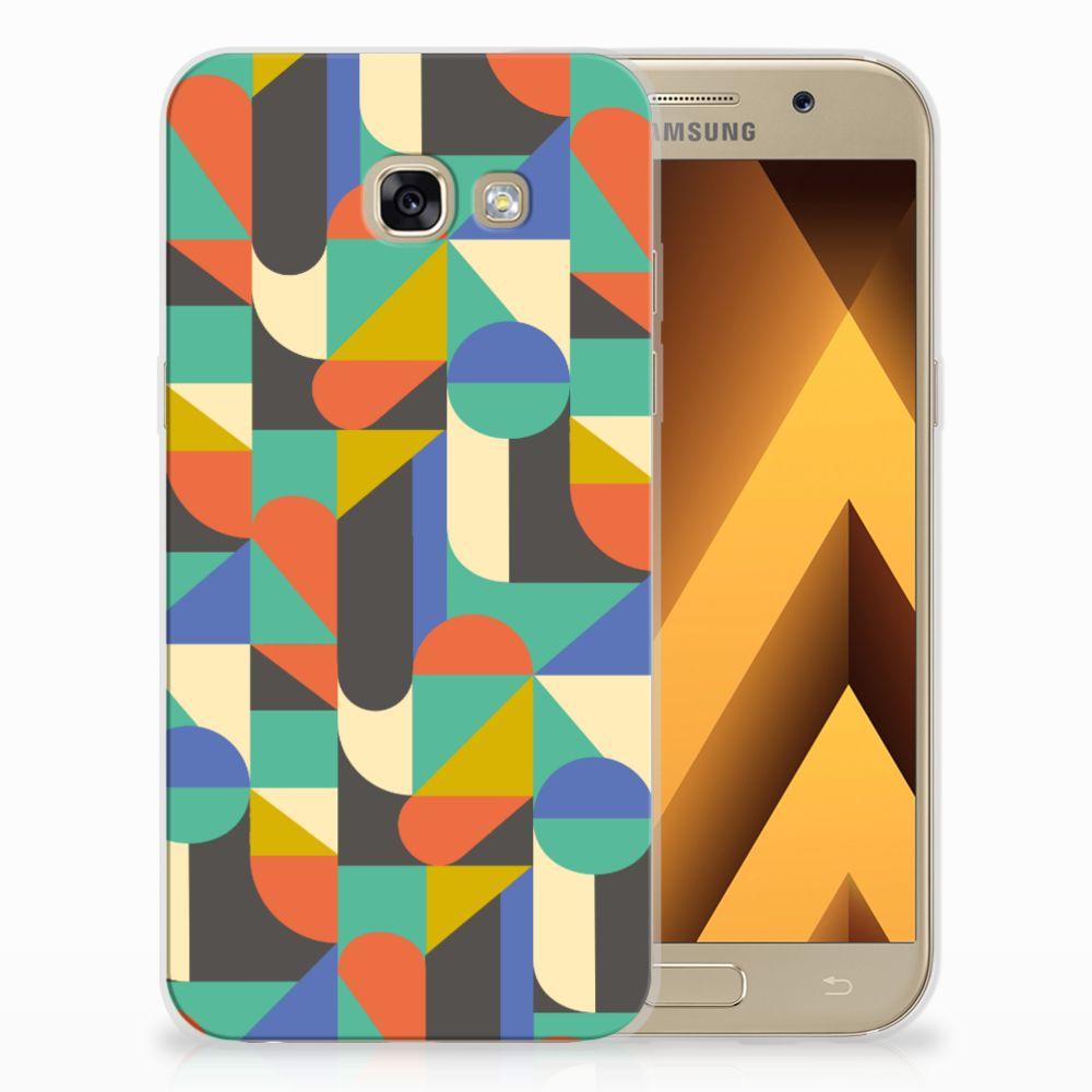 Samsung Galaxy A5 2017 Uniek TPU Hoesje Funky Retro
