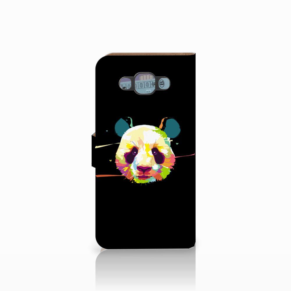Samsung Galaxy E7 Leuke Hoesje Panda Color