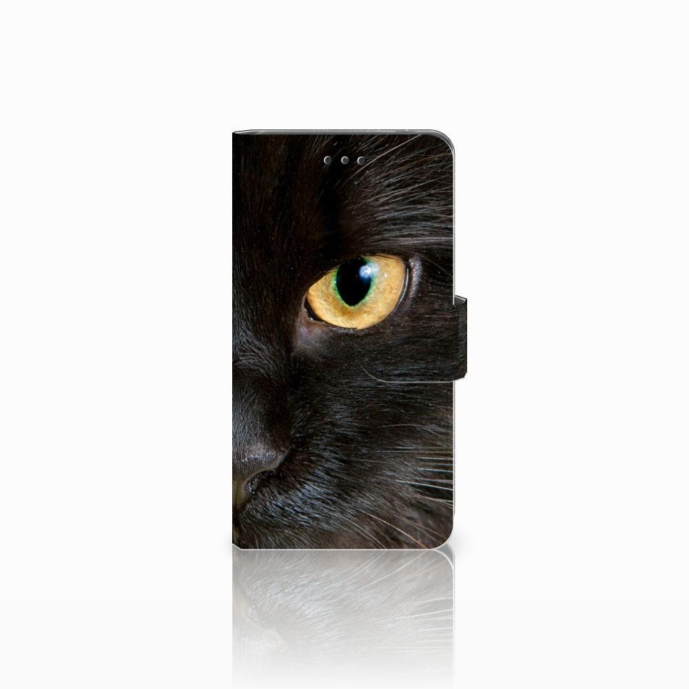 Nokia 7 Uniek Boekhoesje Zwarte Kat