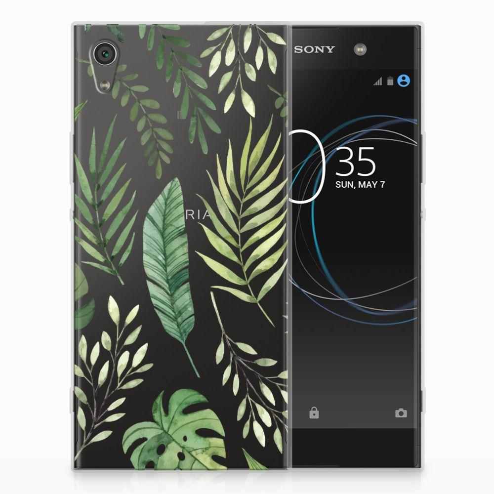 Sony Xperia XA1 Ultra TPU Case Leaves