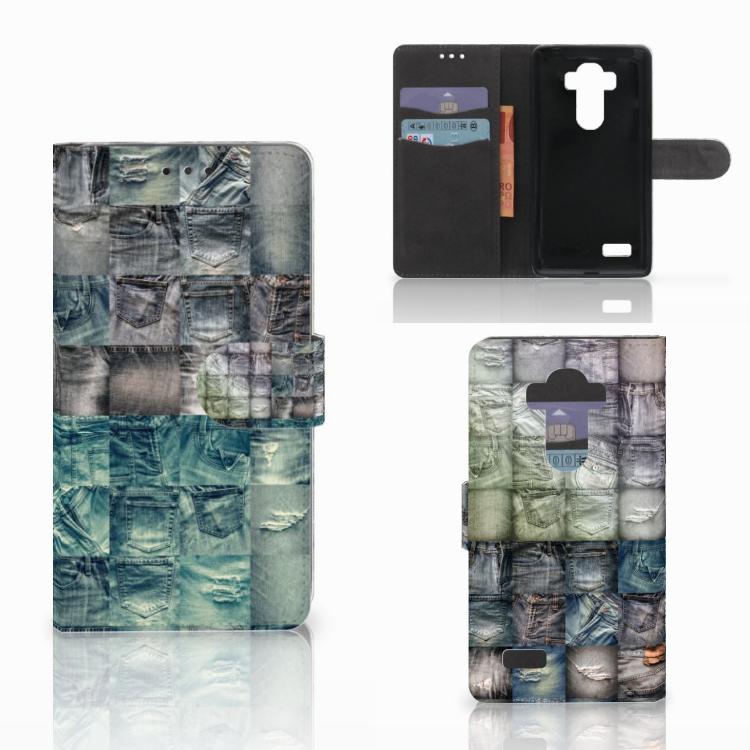 Wallet Case met Pasjes LG G4 Spijkerbroeken