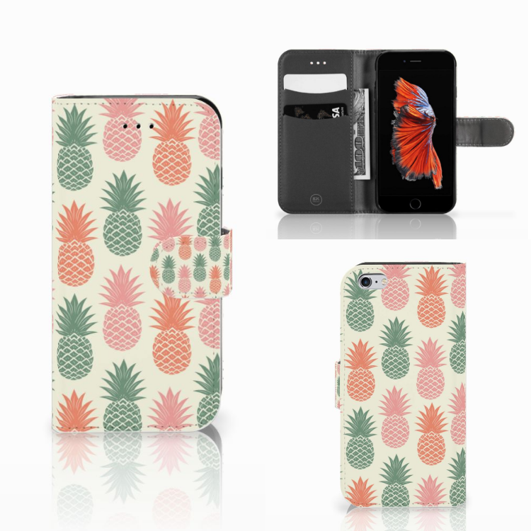 Apple iPhone 6 | 6s Book Cover Ananas