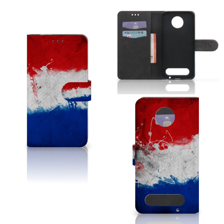 Motorola Moto Z2 Force Bookstyle Case Nederland