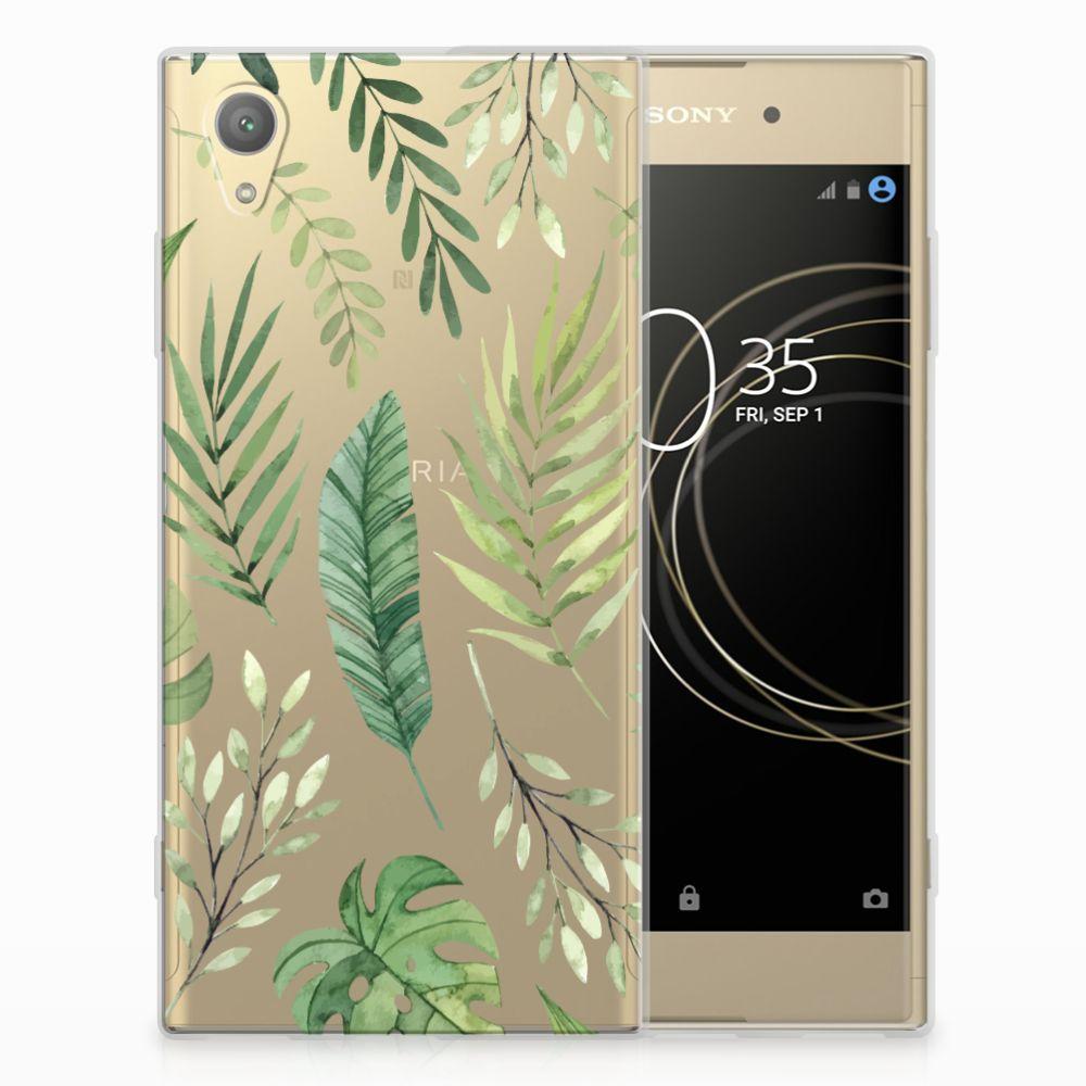 Sony Xperia XA1 Plus TPU Case Leaves