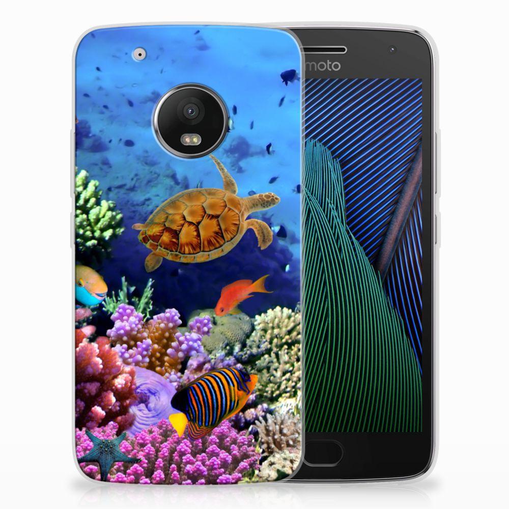 Motorola Moto G5 Plus TPU Hoesje Design Vissen