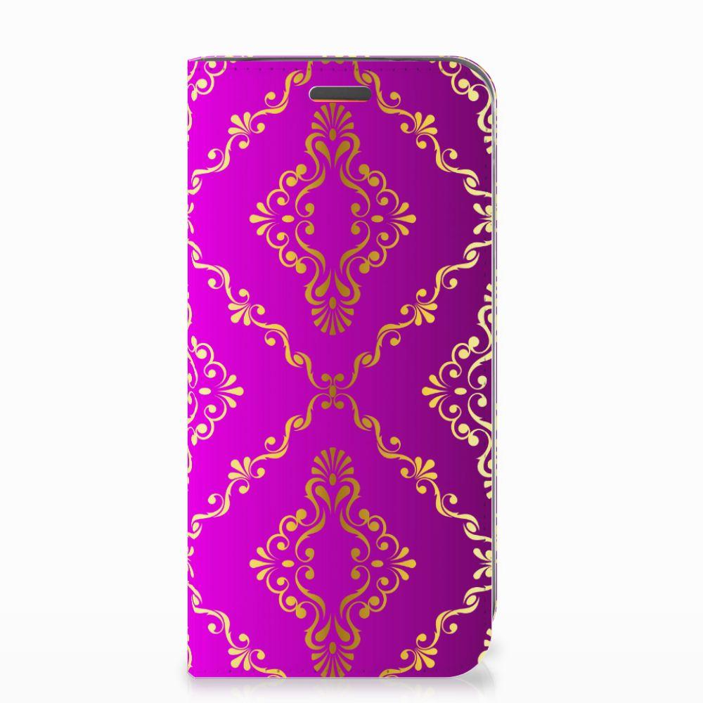 Telefoon Hoesje Motorola Moto E5 Play Barok Roze