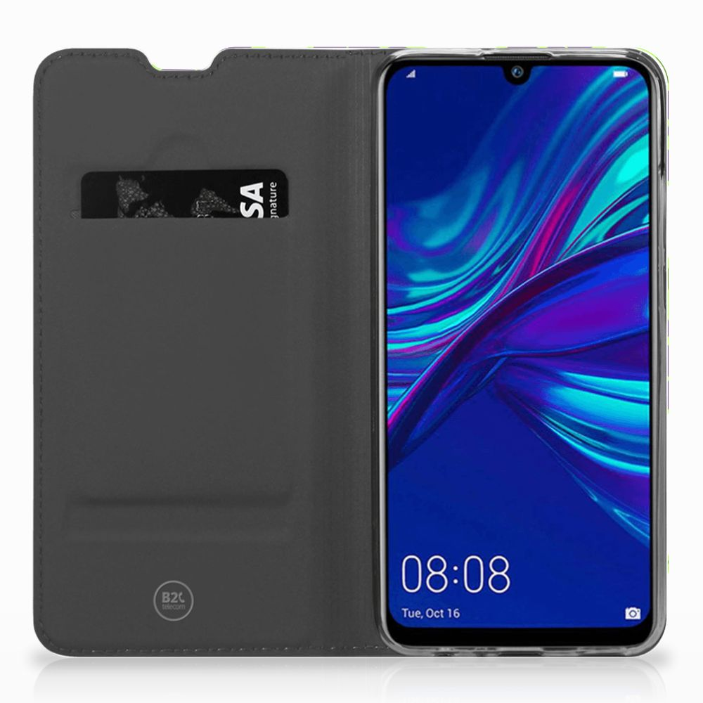 Huawei P Smart (2019) Flip Style Cover Druiven