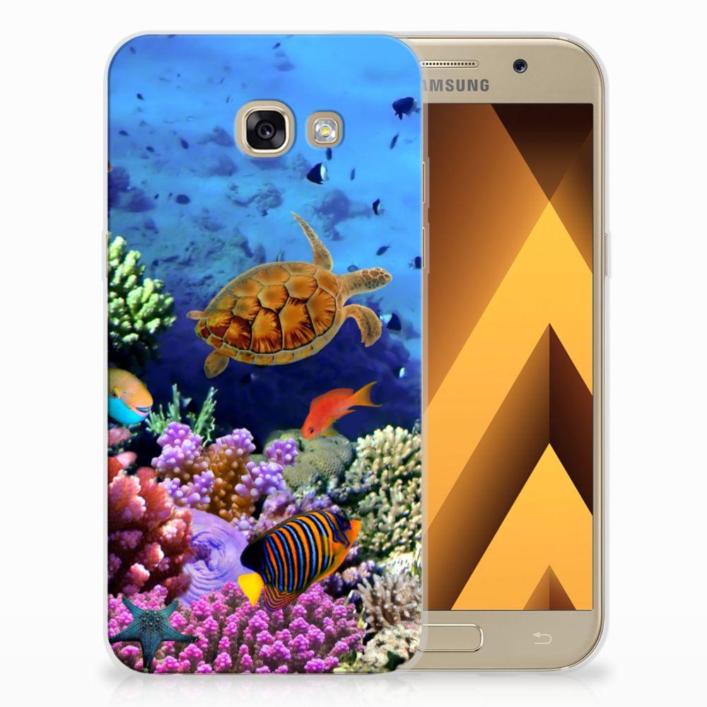 Samsung Galaxy A5 2017 TPU Hoesje Design Vissen