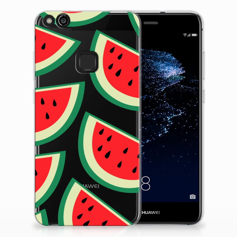 Huawei P10 Lite Siliconen Case Watermelons