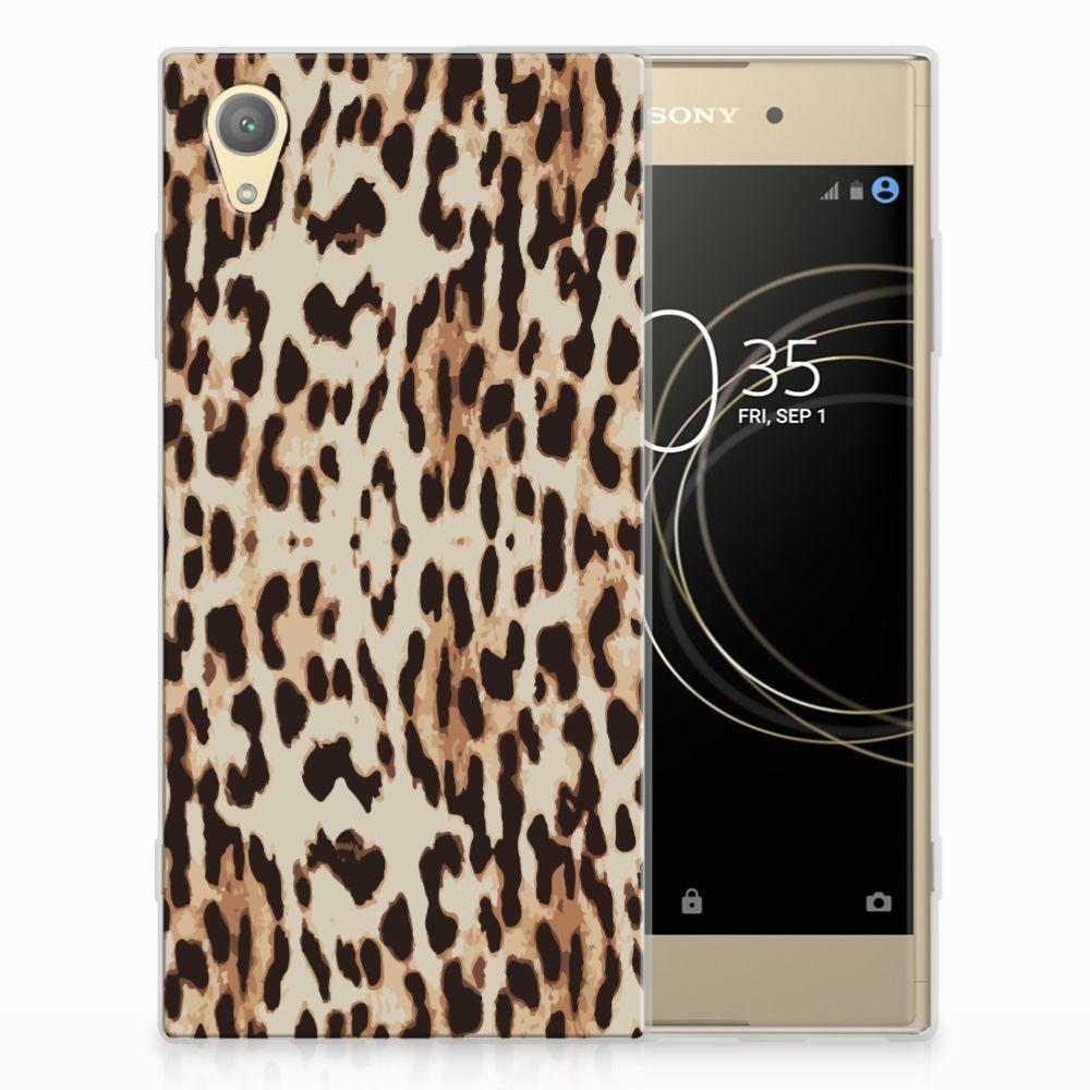 Sony Xperia XA1 Plus TPU Hoesje Leopard