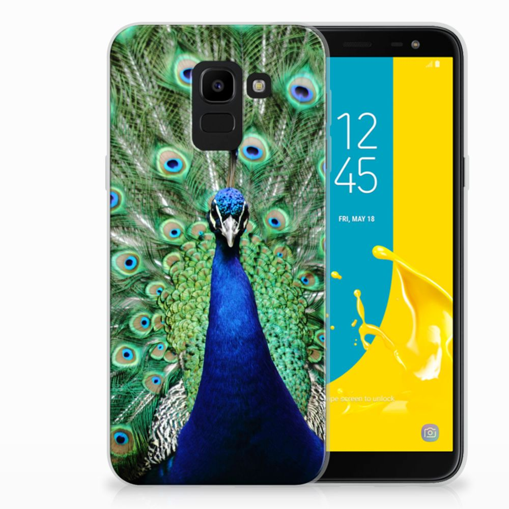 Samsung Galaxy J6 2018 TPU Hoesje Pauw