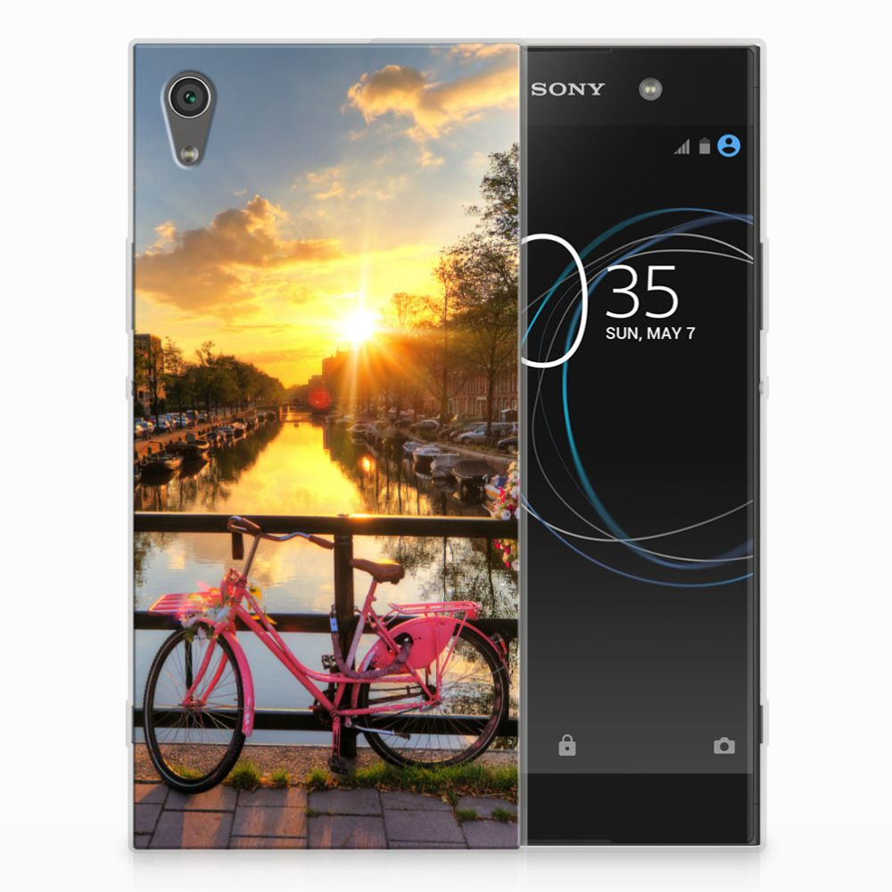 Sony Xperia XA1 Ultra Siliconen Back Cover Amsterdamse Grachten