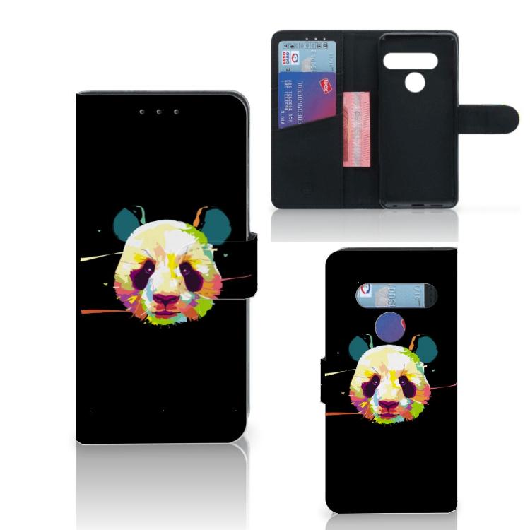 LG G8s Thinq Leuk Hoesje Panda Color