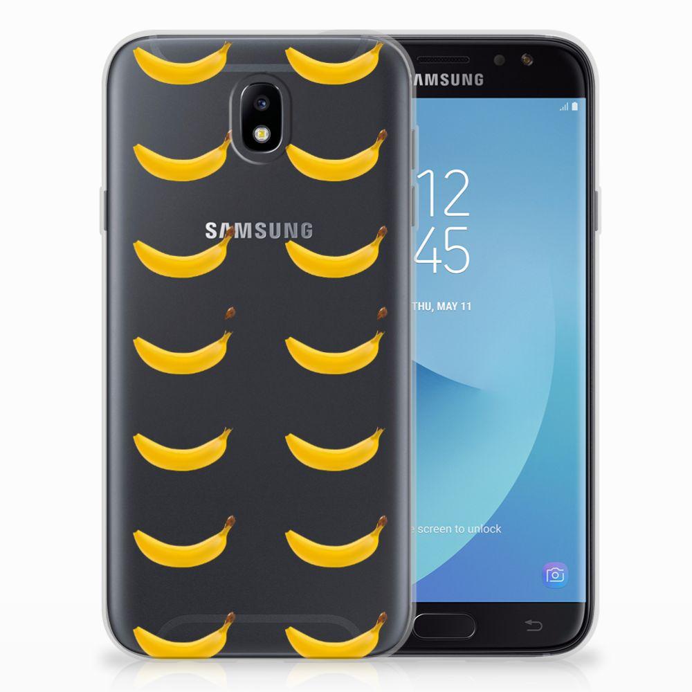 Samsung Galaxy J7 2017 | J7 Pro Siliconen Case Banana