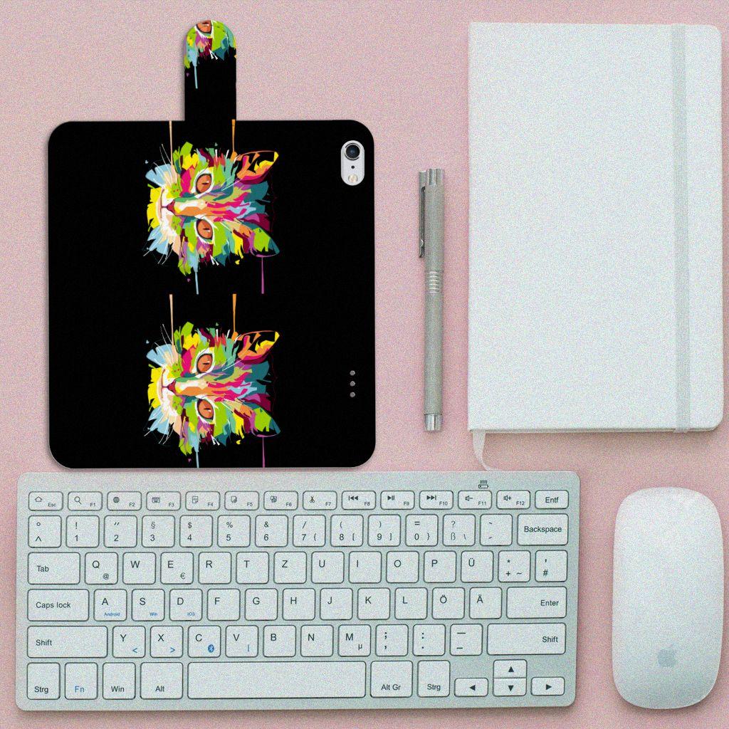 Apple iPhone 6 Plus | 6s Plus Leuke Hoesje Cat Color