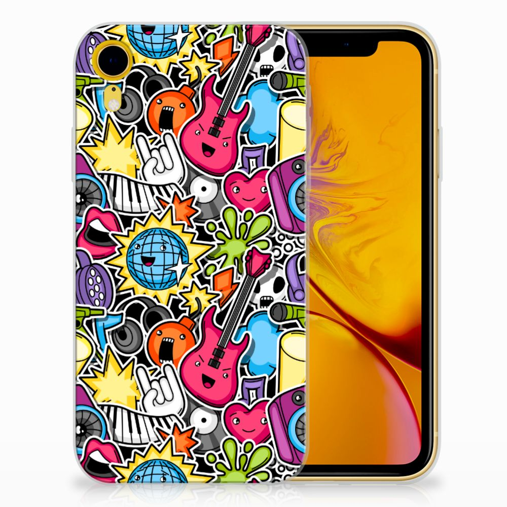 Apple iPhone Xr Uniek TPU Hoesje Punk Rock