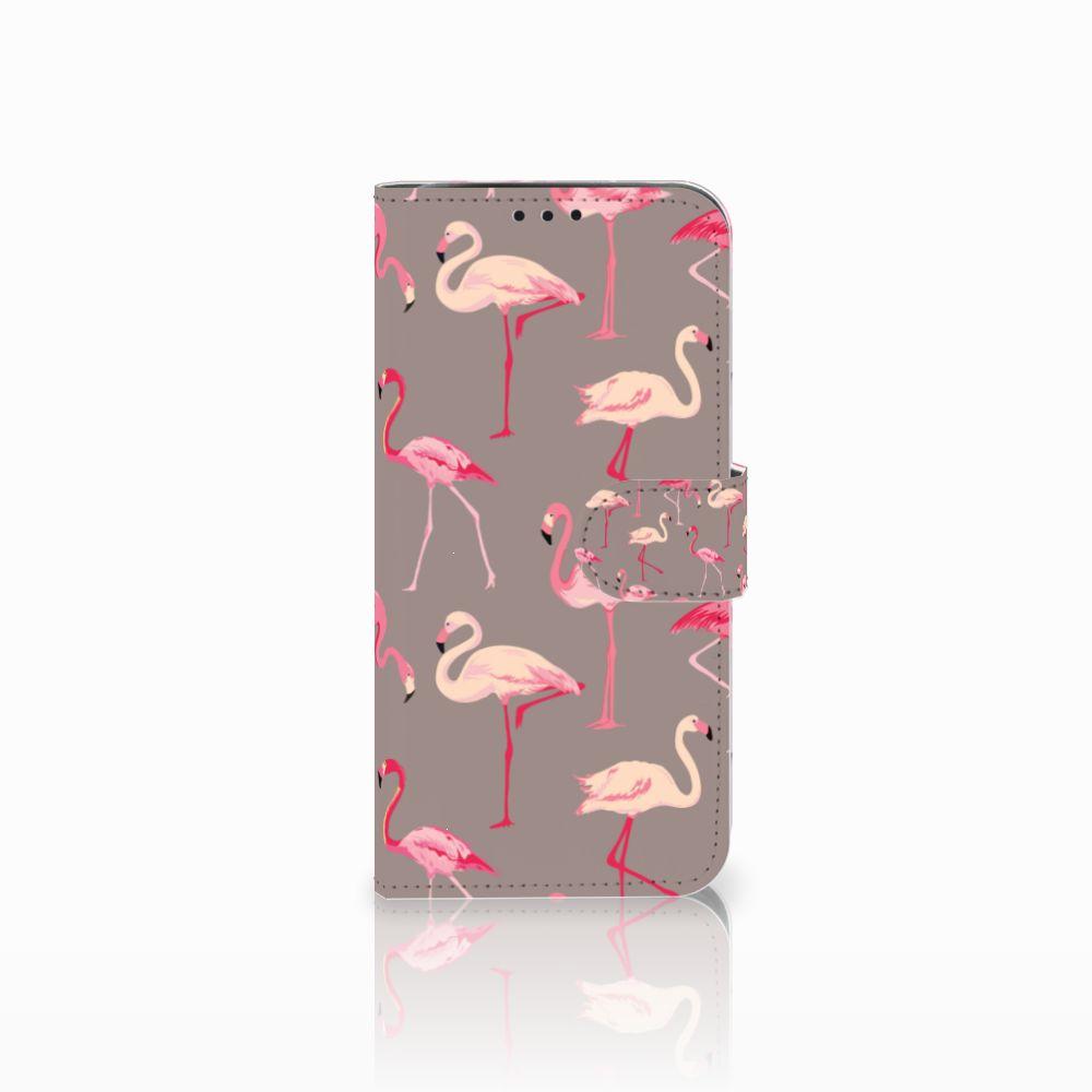 Xiaomi Pocophone F1 Uniek Boekhoesje Flamingo