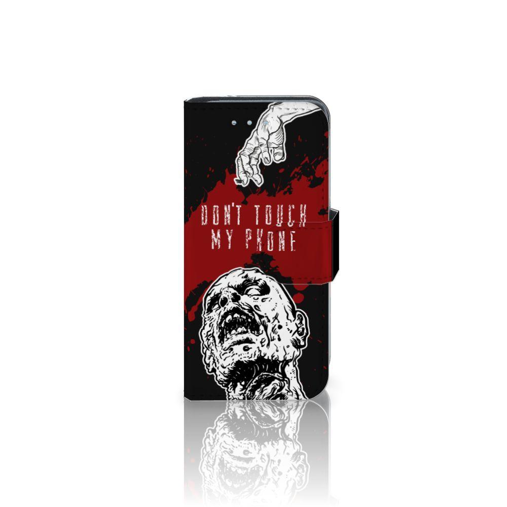 Samsung Galaxy S4 Mini i9190 Boekhoesje Design Zombie Blood