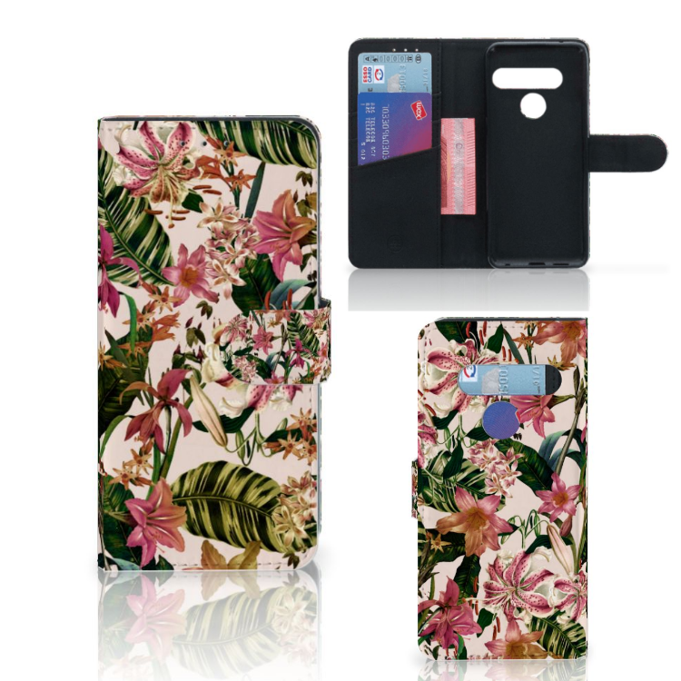LG G8s Thinq Hoesje Flowers