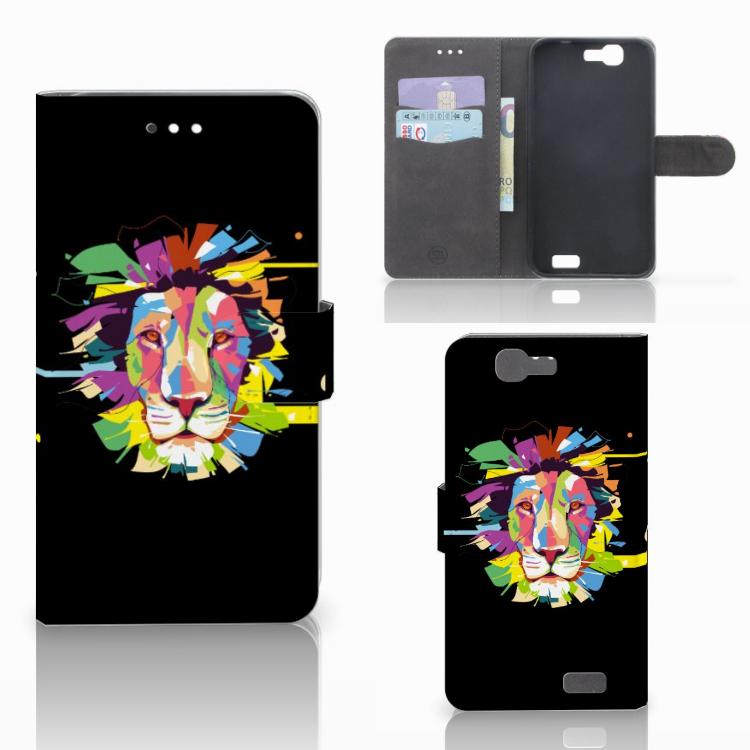 Huawei Ascend G7 Leuk Hoesje Lion Color