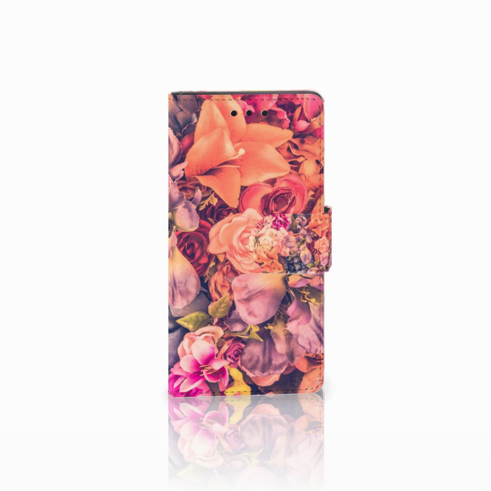 Sony Xperia Z5 Compact Boekhoesje Design Bosje Bloemen