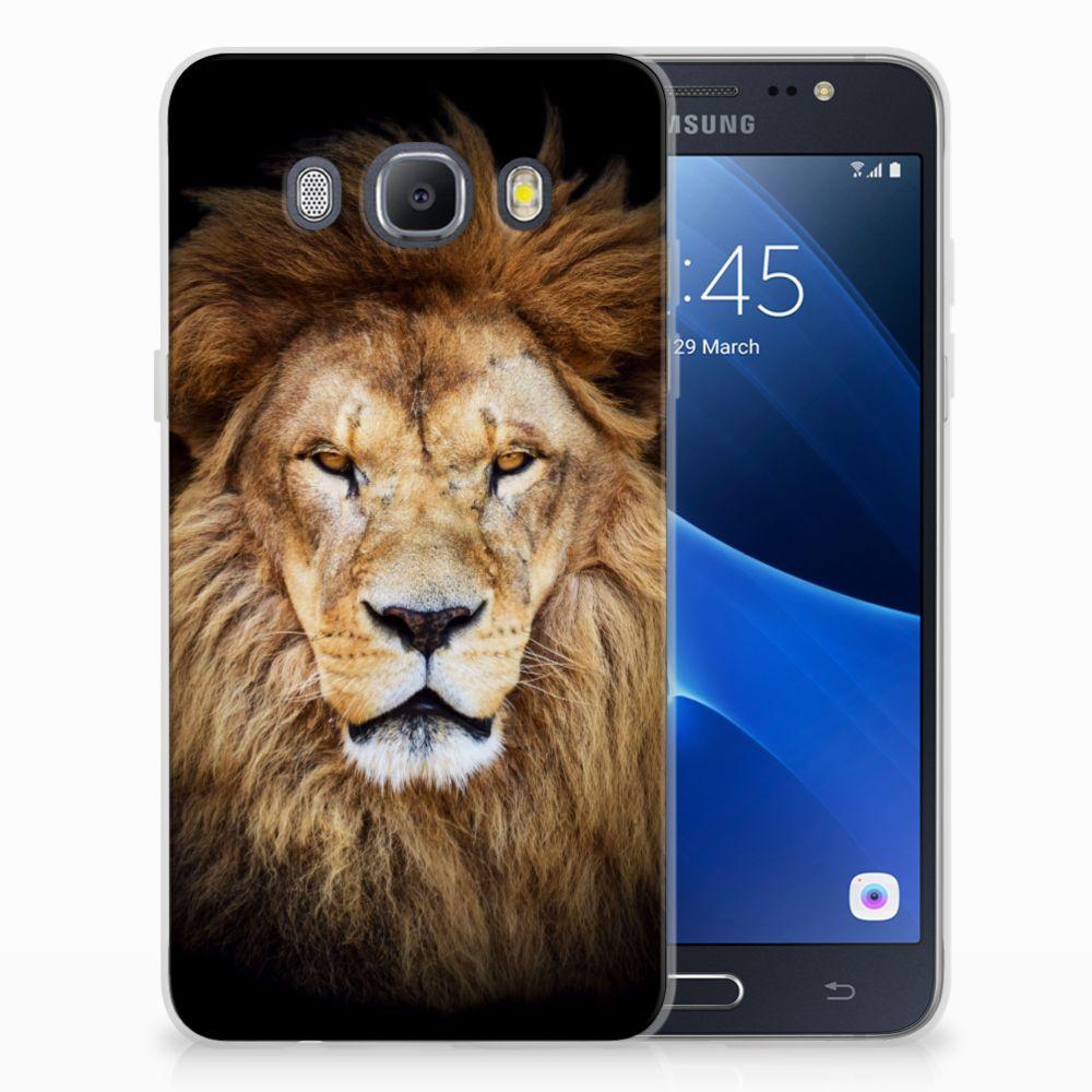 Samsung Galaxy J5 2016 TPU Hoesje Design Leeuw