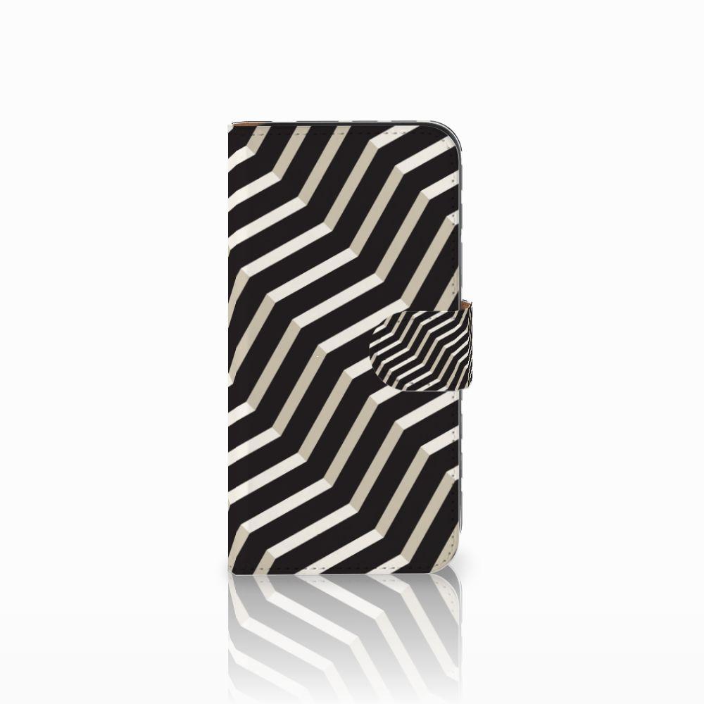 Samsung Galaxy E5 Bookcase Illusion