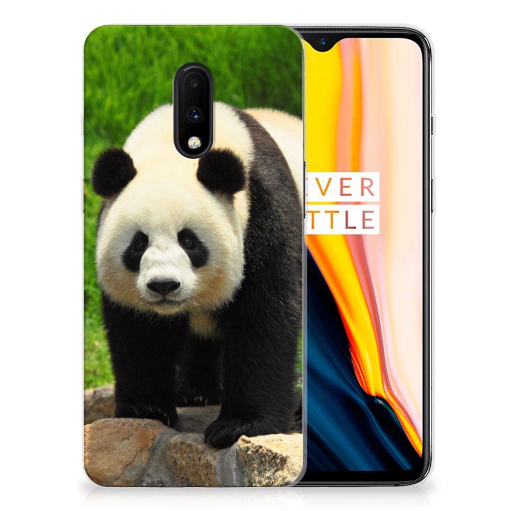 OnePlus 7 TPU Hoesje Panda