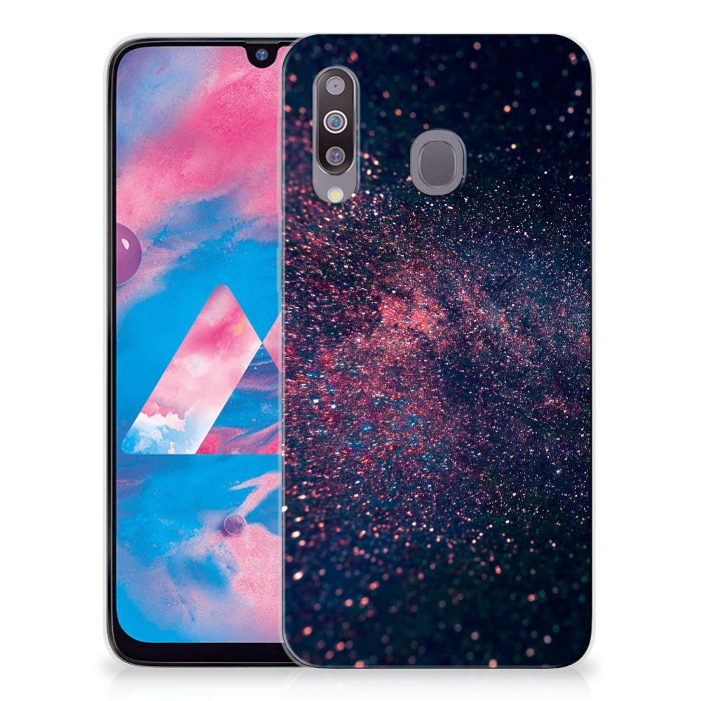 Samsung Galaxy M30 TPU Hoesje Stars