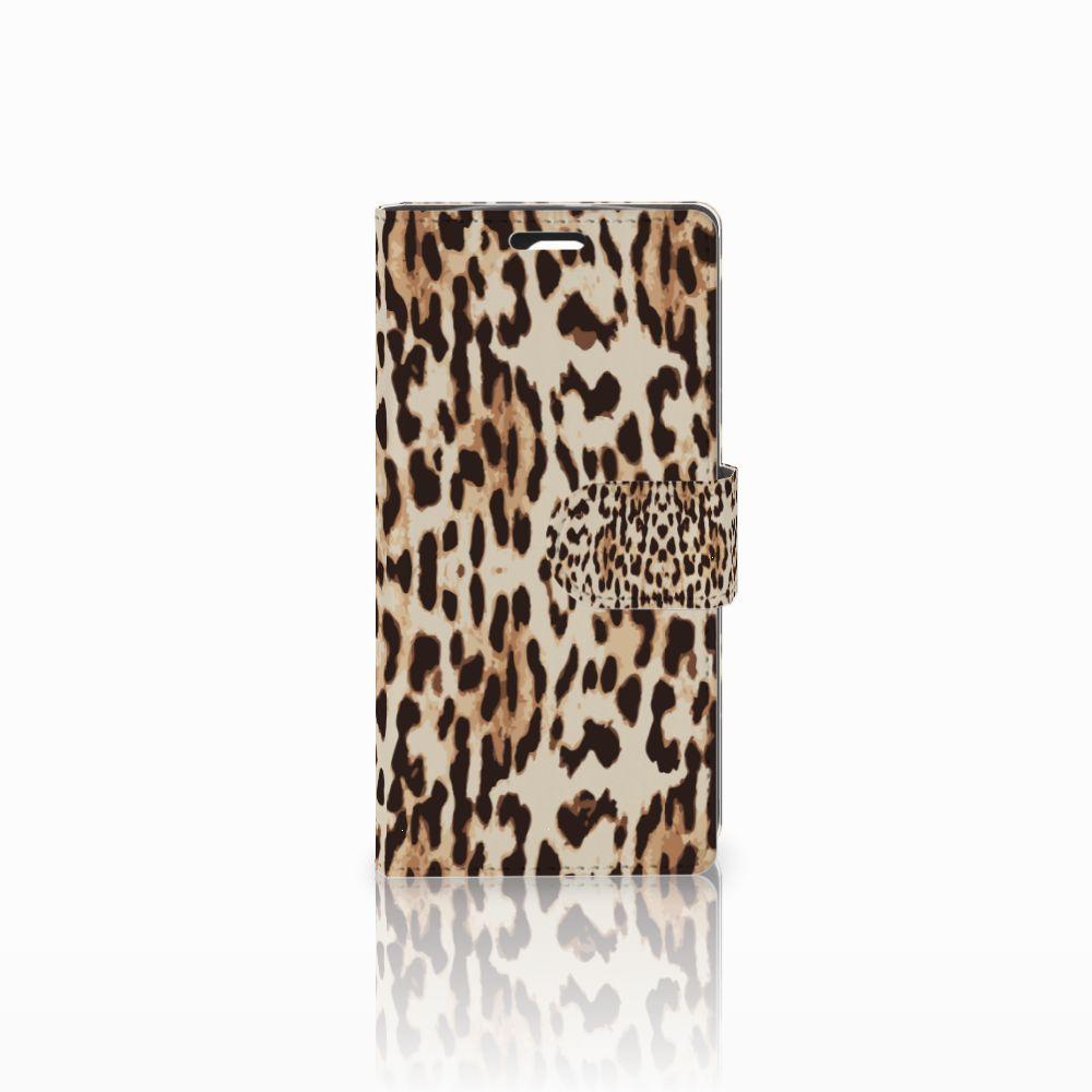 LG Spirit Uniek Boekhoesje Leopard