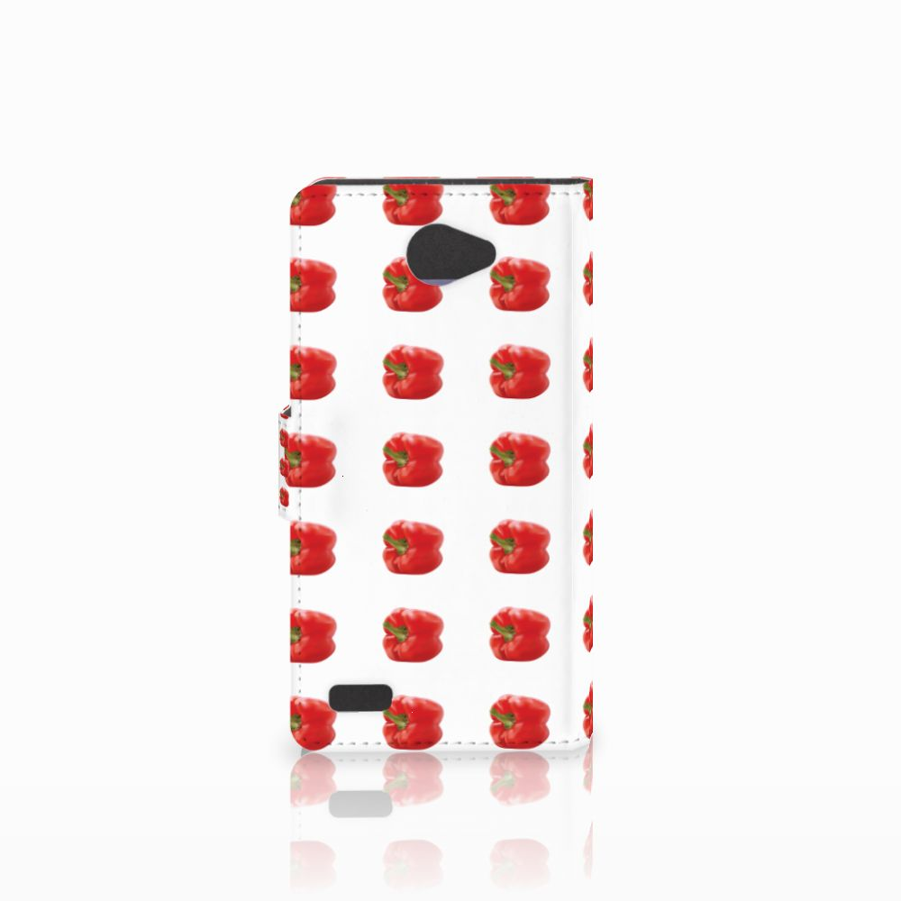 LG Bello 2 Book Cover Paprika Red