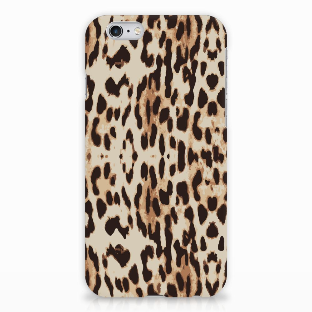 Apple iPhone 6 | 6s Uniek Hardcase Hoesje Leopard
