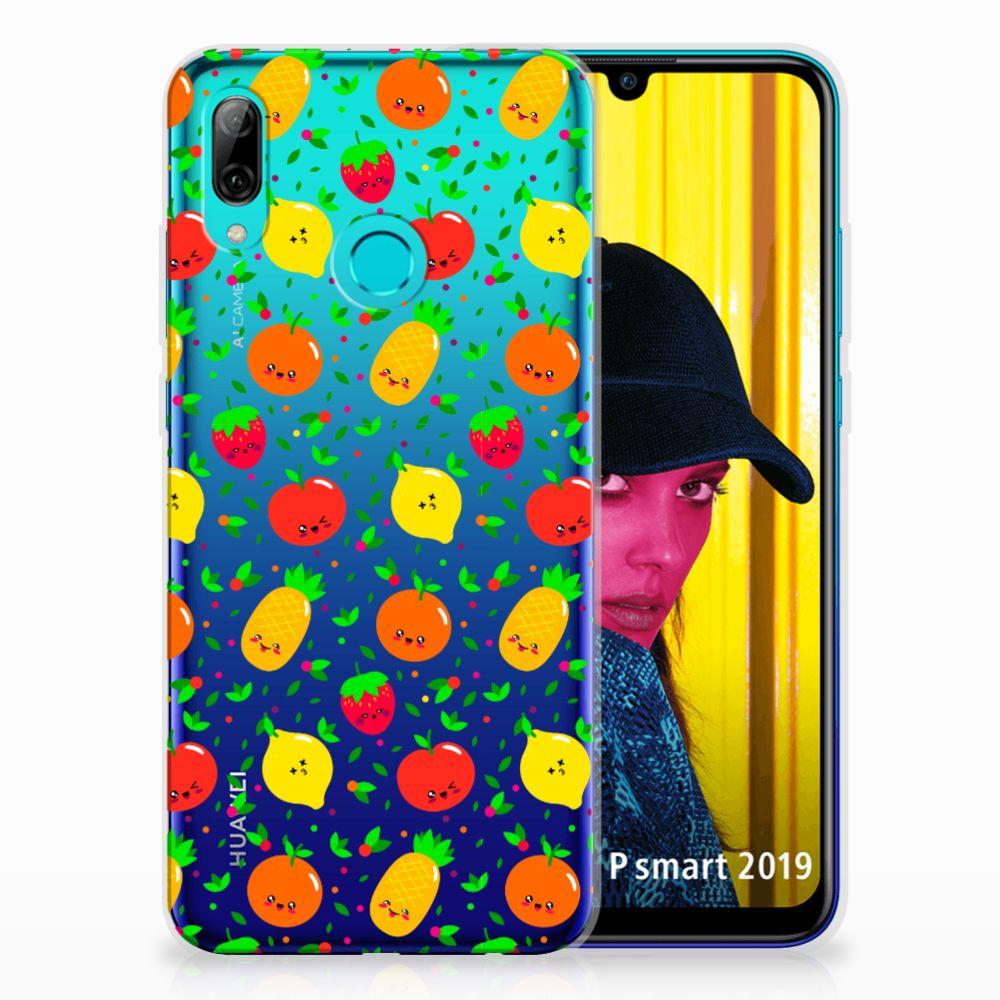 Huawei P Smart 2019 Siliconen Case Fruits