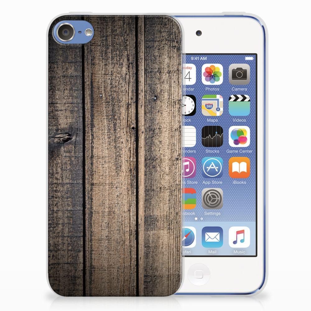 Apple iPod Touch 5 | 6 TPU Hoesje Design Steigerhout