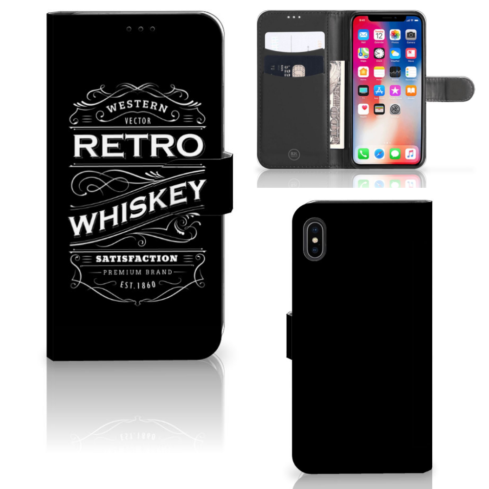 Apple iPhone Xs Max Book Cover Whiskey