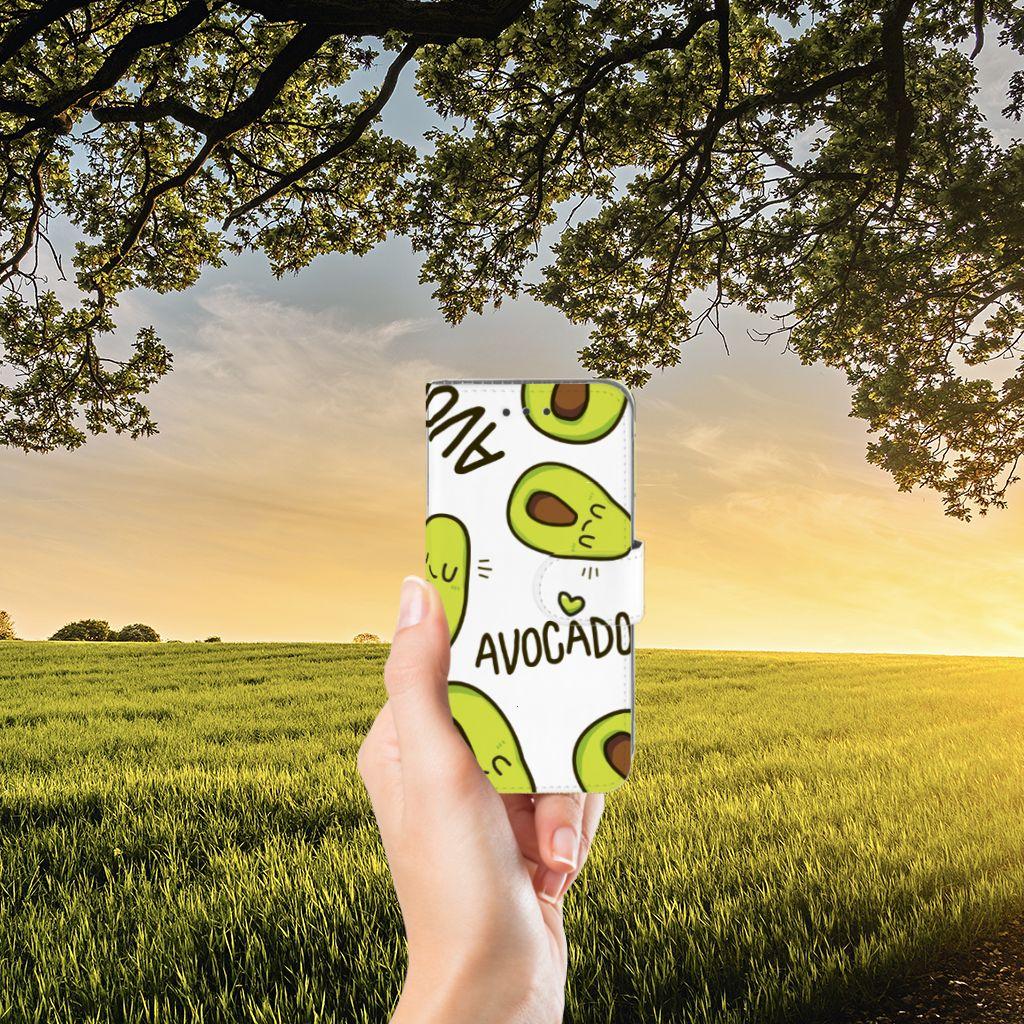 Samsung Galaxy J3 2016 Uniek Boekhoesje Avocado Singing