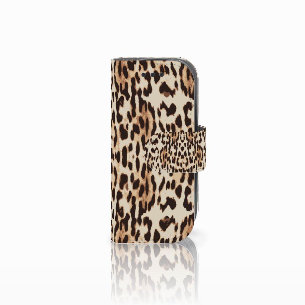 Nokia 3310 (2017) Uniek Boekhoesje Leopard