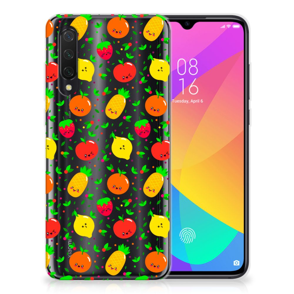 Xiaomi Mi 9 Lite Siliconen Case Fruits