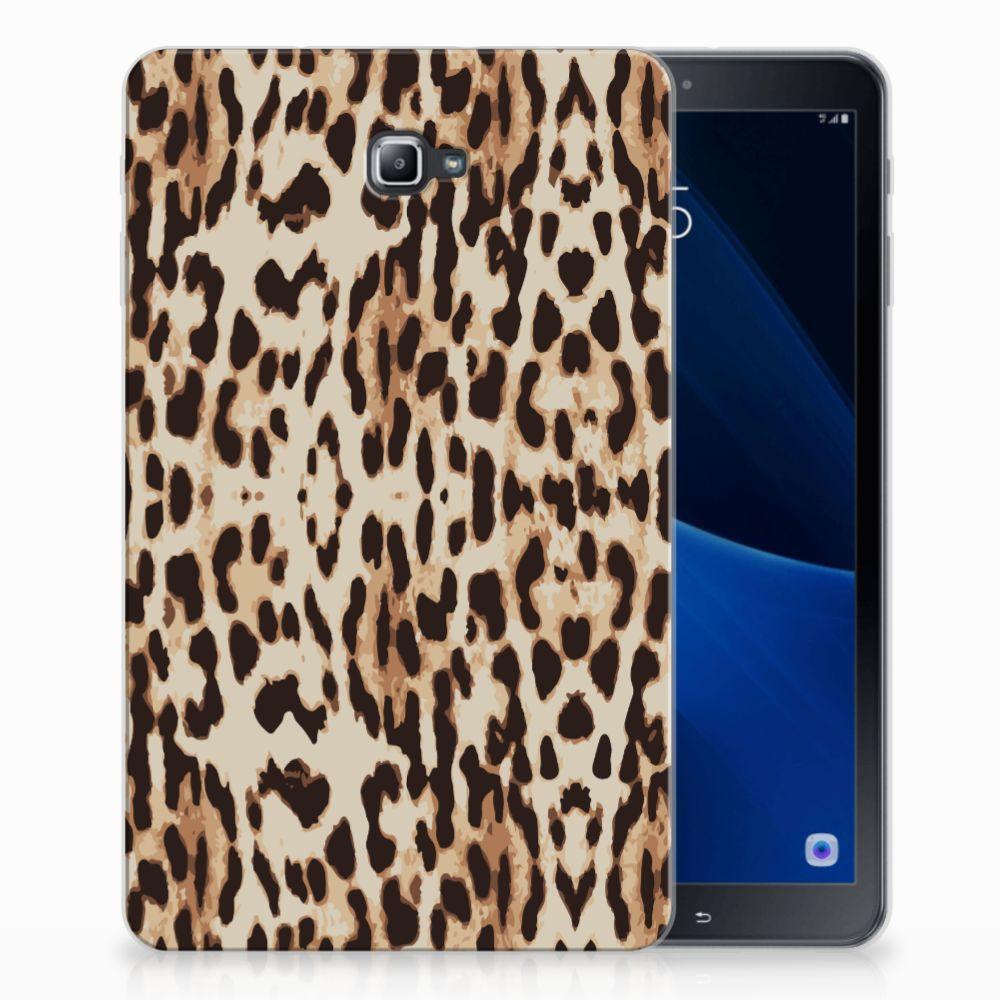Samsung Galaxy Tab A 10.1 Uniek Tablethoesje Leopard