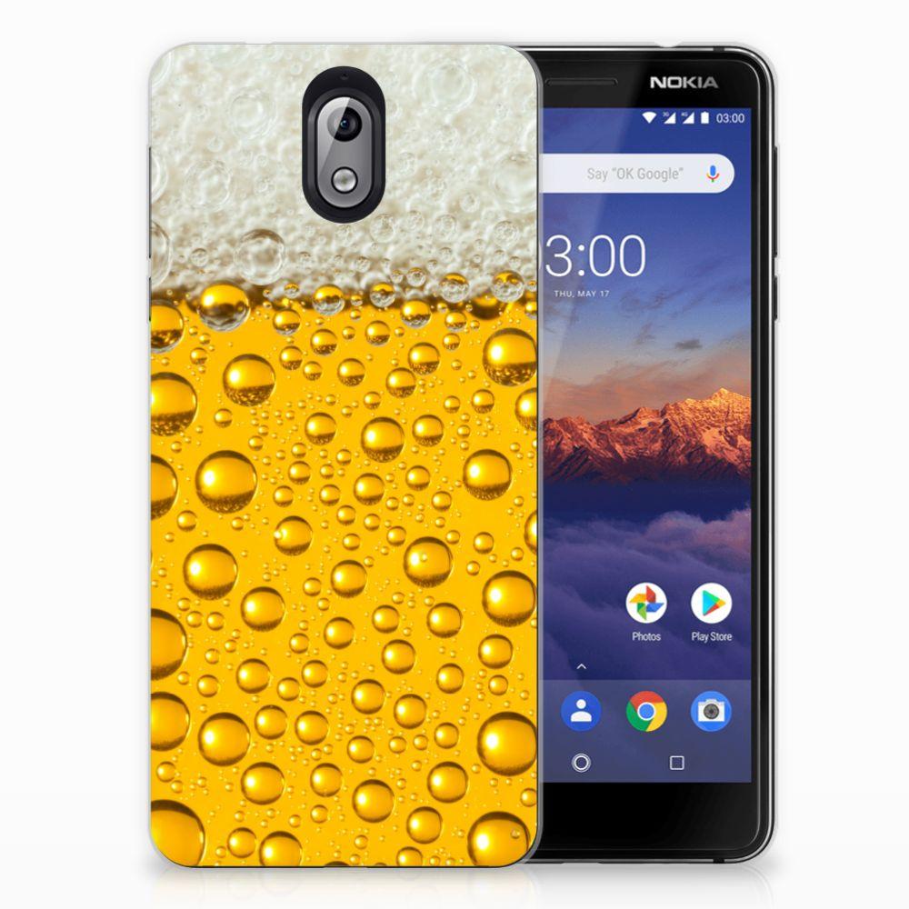 Nokia 3.1 (2018) Siliconen Case Bier