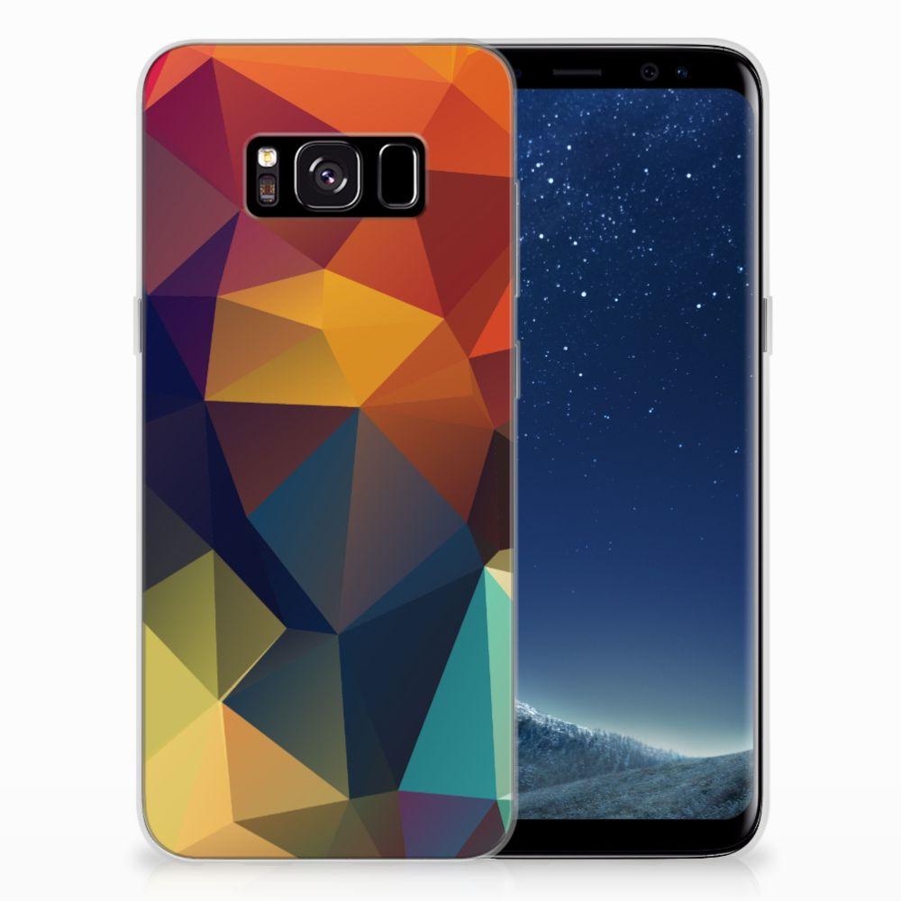 Samsung Galaxy S8 TPU Hoesje Polygon Color