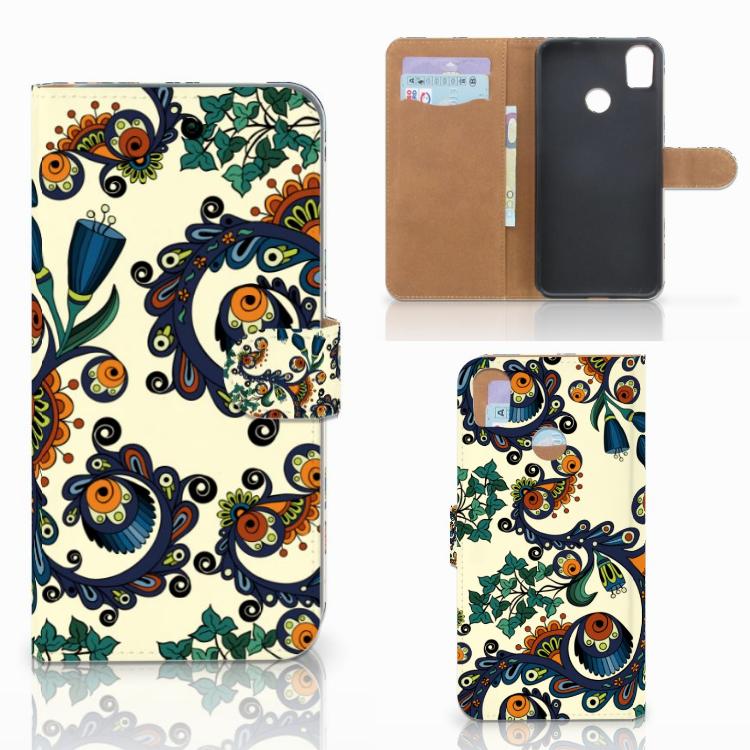Wallet Case HTC Desire 10 Pro Barok Flower