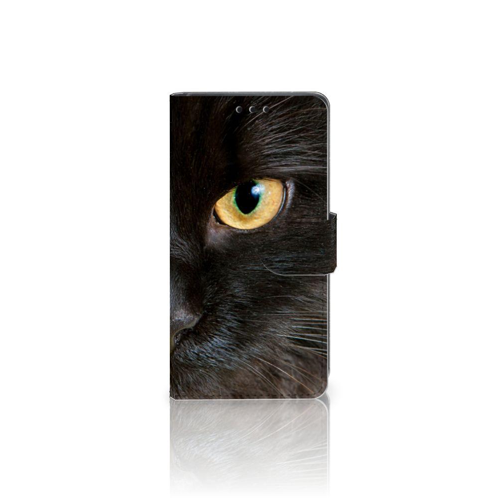 Sony Xperia Z5 | Z5 Dual Uniek Boekhoesje Zwarte Kat