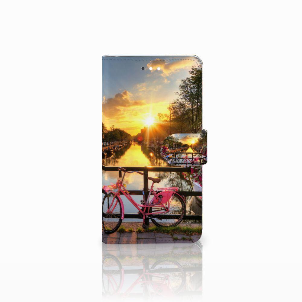 Huawei Ascend G7 Uniek Boekhoesje Amsterdamse Grachten