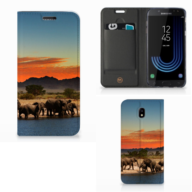 Samsung Galaxy J5 2017 Hoesje maken Olifanten