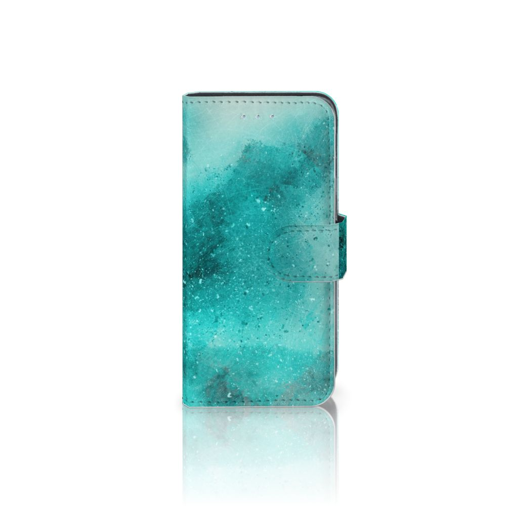 Hoesje Samsung Galaxy A5 2016 Painting Blue