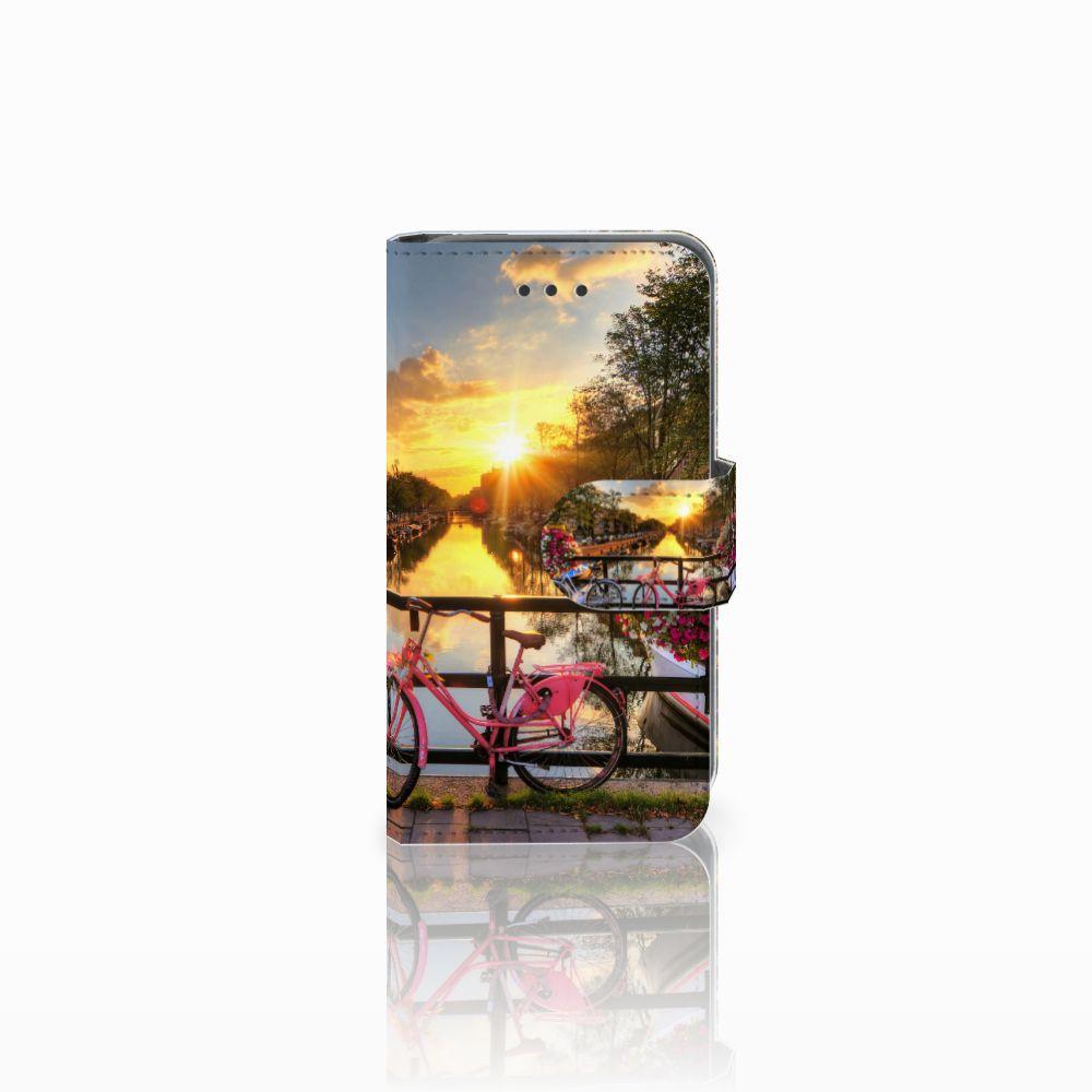 Nokia Lumia 530 Uniek Boekhoesje Amsterdamse Grachten