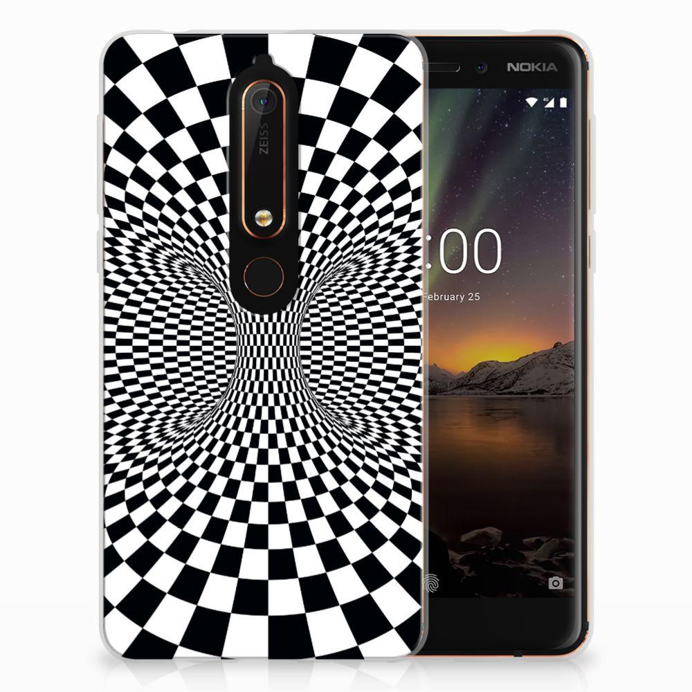 Nokia 6 (2018) TPU Hoesje Illusie